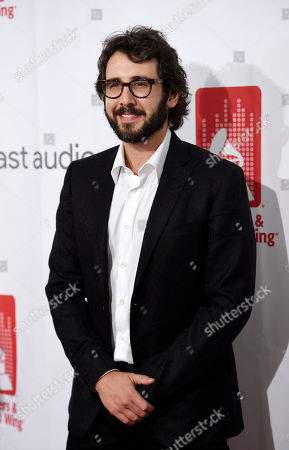 Singer Josh Groban poses at the 9th Annual Grammy Week Event Honoring Rick Rubin at The Village Recording Studios, in Los Angeles