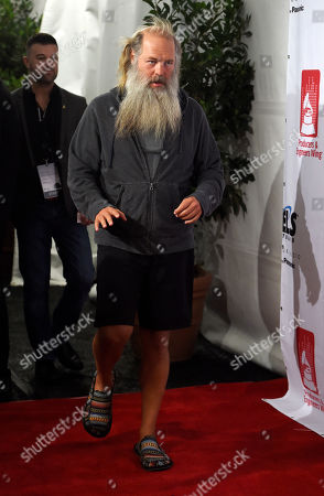 Music producer Rick Rubin arrives at the ninth annual Grammy Week Event honoring him at The Village Recording Studios, in Los Angeles