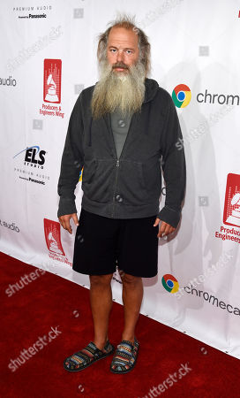 Music producer Rick Rubin poses at the 9th Annual Grammy Week Event honoring him at The Village Recording Studios, in Los Angeles