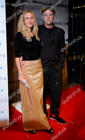 Lucy & Charlie Paul arrive at the BFI London Film Festival Awards held at Banqueting House on in London, UK