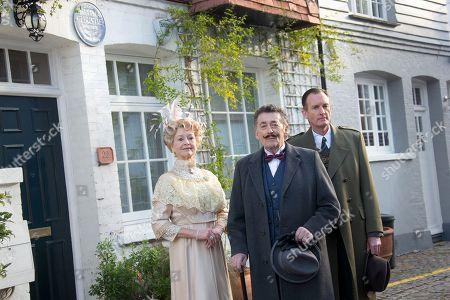 Editorial image of Britain Agatha Christieâ?™s Poirot Theatre Photocall, London, United Kingdom