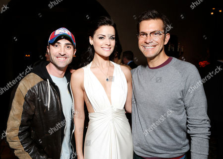 """Darren Capozzi, Jaimie Alexander and Peter Huyck attend the after party for the LA premiere of """"The Last Stand"""" at Grauman's Chinese Theatre, in Los Angeles"""