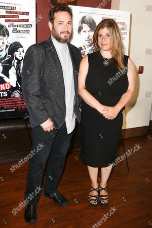 "Robert Pulcini, left, and Shari Springer Berman arrive at the Special Screening of ""Ten Thousand Saints"" at PicNik Restaurant, in Los Angeles"