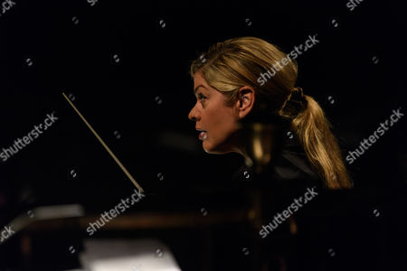 Stock Image of Phelim McDermott, at the London Coliseum. Picture shows: Keri-Lynn Wilson, conductor.