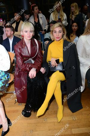 Editorial photo of Kristina Fidelskaya show, Front Row, Spring Summer 2018, Paris Fashion Week, France - 28 Sep 2017
