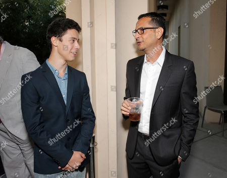 Stock Photo of Eric Tabach and writer Mauricio Zacharias attend the 2014 Los Angeles Film Festival screening of 'Love Is Strange' at the Bing Theatre at LACMA on in Los Angeles