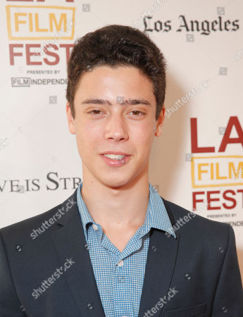 Stock Image of Eric Tabach attends the 2014 Los Angeles Film Festival screening of 'Love Is Strange' at the Bing Theatre at LACMA on in Los Angeles