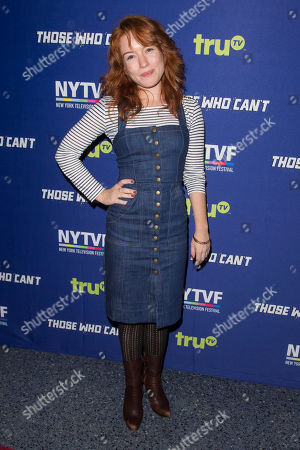 """Maria Thayer attends the 11th Annual New York Television Festival screening and panel of truTV's original comedy series """"Those Who Can't,"""" at the SVA Theatre, in New York"""