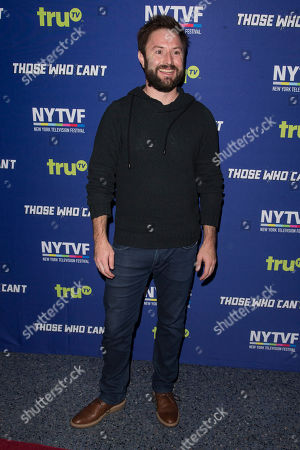 """Adam Cayton-Holland attends the 11th Annual New York Television Festival screening and panel of truTV's original comedy series """"Those Who Can't"""", at the SVA Theatre, in New York"""