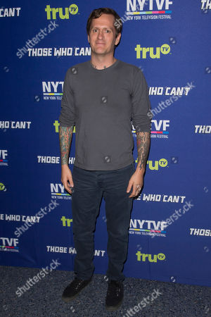 "Ben Roy attends the 11th Annual New York Television Festival screening and panel of truTV's original comedy series ""Those Who Can't"", at the SVA Theatre, in New York"