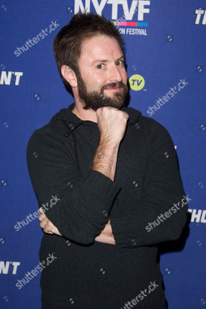 """Stock Picture of Adam Cayton-Holland attends the 11th Annual New York Television Festival screening and panel of truTV's original comedy series """"Those Who Can't"""", at the SVA Theatre, in New York"""