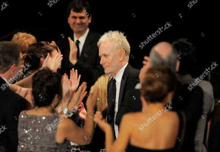 "Anthony Geary walks onstage to accept the award for lead actor in a drama series for ""General Hospital"" onstage at the 39th Annual Daytime Emmy Awards at the Beverly Hilton Hotel on in Beverly Hills, Calif"