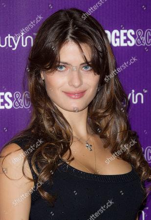 Editorial image of Brazilian Model Isabelli Fontana, London, United Kingdom