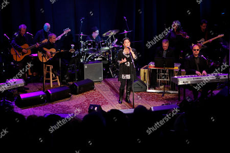 Crystal Gayle performs at the Country Music Hall of Fame Inductions on in Nashville, Tenn
