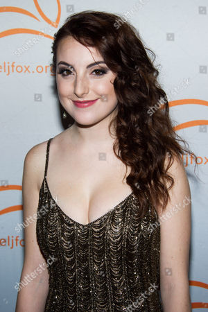 Juliette Goglia attends A Funny Thing Happened On The Way To Cure Parkinson's benefit for The Michael J. Fox Foundation for Parkinson's Research on in New York