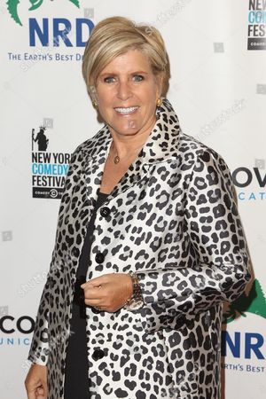 """Suze Orman attends the """"Night of Comedy"""" benefit for the Natural Resources Defense Council (NRDC), in association with the 2014 New York Comedy Festival, at 583 Park Avenue, in New York"""