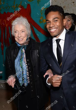 """Stock Photo of Margaret Keane attends the """"Big Eyes"""" premiere after party at Kappo Masa, in New York"""