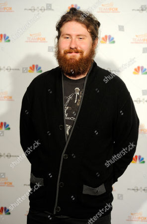 Singer Casey Abrams poses at the Raising the Bar to End Parkinsons fundraising event at Public School 310, in Culver City, Calif