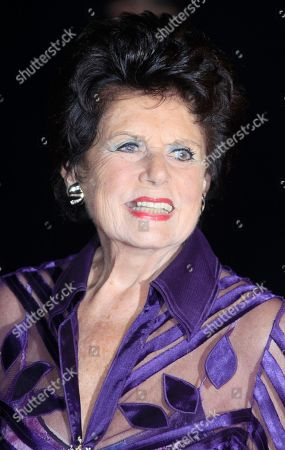Stock Image of Eunice Gayson arrives at the after party for the world premiere of Skyfall on in London