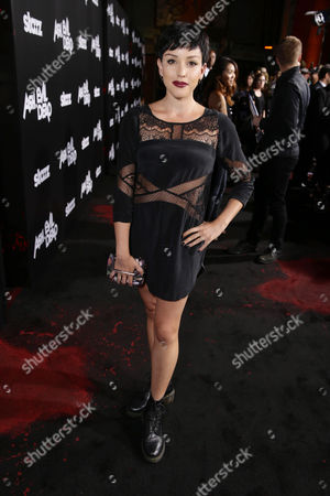 Raychel Weiner seen at Starz Premiere of 'Ash vs Evil Dead' at TCL Chinese Theatre, in Los Angeles, CA