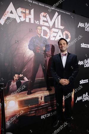 Executive Producer Craig DiGregorio seen at Starz Premiere of 'Ash vs Evil Dead' at TCL Chinese Theatre, in Los Angeles, CA