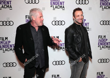 Ron Perlman and Exec. Producer/Creator/Director Ben Ketai