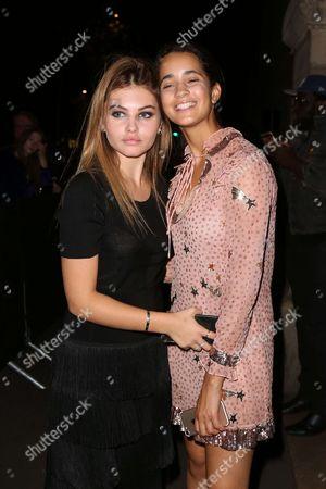 Thylane Blondeau and Iman Perez