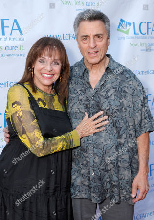 "Valerie Harper and husband Tony Cacciotti attend the ""Lung Cancer: Bring On The Change!"" Event on in Los Angeles"