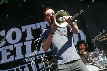Scott Weiland performs at the 2015 BottleRock Napa Valley Music Festival at the Napa Valley Expo, in Napa, Calif