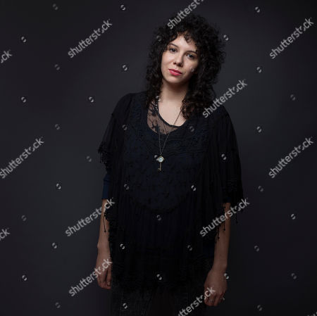 """Stock Picture of Lauren Molina poses for a portrait to promote the film, """"Body"""", at the Eddie Bauer Adventure House during the Sundance Film Festival, in Park City, Utah"""