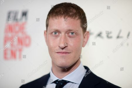 "Samuel Roukin attends the ""Equity"" premiere held at ArcLight Cinemas, in Culver City, Calif"