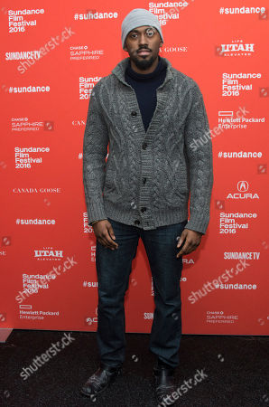 """Stock Photo of Robert Hunter poses at the premiere of """"The Land"""" during the 2016 Sundance Film Festival, in Park City, Utah"""