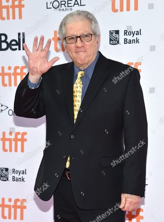 Peter Riegert arrives at the American Pastoral premiere on day 2 of the Toronto International Film Festival at the Princess of Wales Theatre, in Toronto