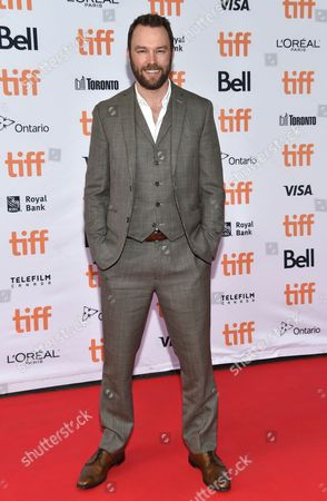 Mark Hildreth arrives at the American Pastoral premiere on day 2 of the Toronto International Film Festival at the Princess of Wales Theatre, in Toronto