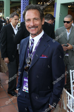 IMAGE DISTRIBUTED FOR BREEDER'S CUP - Jim Rome attends Day 1 of Breeders' Cup World Championships held at Santa Anita Park, in Arcadia, Calif