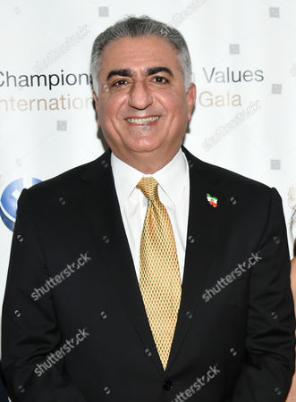 Crown Prince of Iran, Reza Pahlavi attends the Champions of Jewish Values International Awards Gala at the Marriott Marquis, in New York