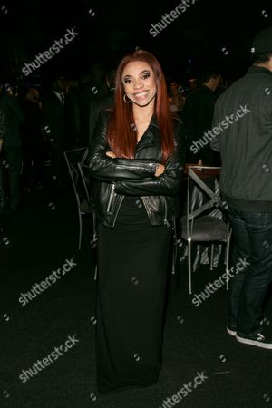 "Erin Bria Wright attends the Los Angeles premiere of ""Straight Outta Compton"" after party at the L.A. Live Event Deck on"