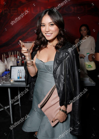 """Stock Photo of DJ Samantha Duenas attends the Los Angeles Premiere of """"A.C.O.D."""" Powered by CIROC Vodka, at The W Hotel on in Los Angeles"""