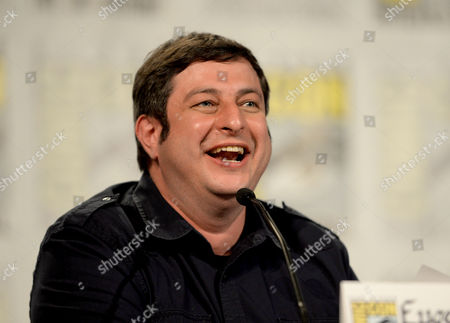 """Actor Eugene Mirman attends the FX """"Archer"""" panel on Day 3 of Comic-Con International on in San Diego, Calif"""