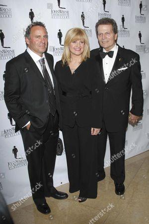 Ethan Wayne, Bonnie Hunt and Patrick Wayne