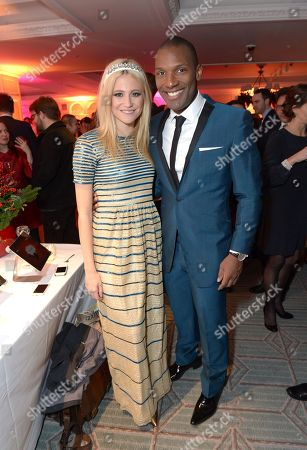 Pixie Lott and Noah Stewart attend Fortnum & Mason and Quintessentially Foundation 'Fayre of St James', in London