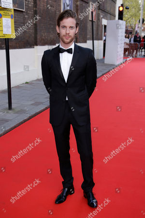 Luke Treadway poses for photographers upon arrival at the gala celebration in honour of Kevin Spacey in central London, Sunday, 19 April, 2015