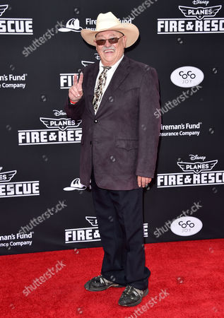 Barry Corbin arrives at the premiere of Disney's Planes: Fire & Rescue sponsored by Coco Joy Kids at El Capitan, in Los Angeles