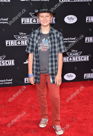 Editorial picture of Coco Joy Kids Sponsors Premiere of Disneyâ?™s Planes: Fire & Rescue, Los Angeles, USA