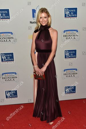 Chandra Janway attends the NASCAR Foundation's inaugural honors gala at the Marriott Marquis, in New York