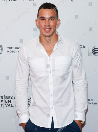 """Stock Image of Seth Dousman attends the Tribeca Film Festival world premiere of """"Ashby"""" at the SVA Theatre, in New York"""