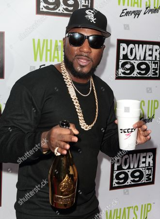 Young Jeezy poses for photographers backstage during the Power 99 Powerhouse 2016 at the Wells Fargo Center, in Philadelphia