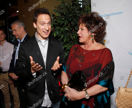 Elon Gold and Lainie Kazan attend the 27th Israel Film Festival Opening Night Gala, on Thursday, April, 18, 2013 in Beverly Hills, California