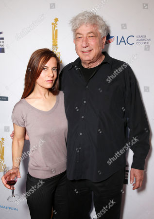 Lati Grobman and Avi Lerner attend the 27th Israel Film Festival Opening Night Gala, on Thursday, April, 18, 2013 in Beverly Hills, California