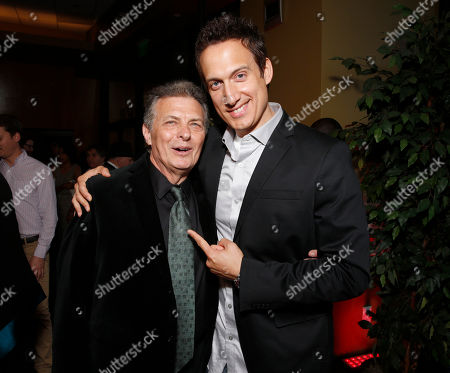 Israel Film Festival Founder/Executive Director Meir Fenigstein and Elon Gold attend the 27th Israel Film Festival Opening Night Gala, on Thursday, April, 18, 2013 in Beverly Hills, California